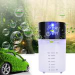 Purificador de ar para carro-quarto doméstico, purificador de ar de ânion e remoção de odores purificador de ar aromaterapia difusor, preto