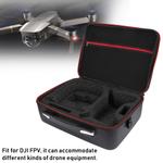 Saco de armazenamento rc, impermeável portátil de ombro único saco de armazenamento de acessórios adequado para dji Drone