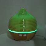 Difusor de aroma, Umidificador de ar Ultra-silencioso Pequeno Cool Mist e difusor de óleo essencial com 7 cores de mudança de luz para quartos de adul