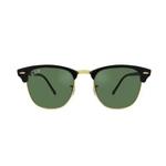 Óculos De Sol Ray-ban Unissex Clubmaster Rb3016l 901/5851 - Cod 11008656