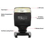 Flash para câmera MK320-P Flash Speedlite para Panasonic para câmeras Olympus dslr Acessórios para fotos