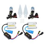 Elerose carro farol, lâmpada de farol LED 6000K 12V / 55W lâmpada de xenon lâmpada de substituição farol