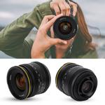 KamLan 21mm F1.8 Lente principal de foco manual para Canon eos-m Sony E Fuji fx M4 / 3 novo