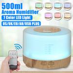 Difusor de óleo essencial de aroma de umidificador de ar 500ml para fabricante de névoa doméstica