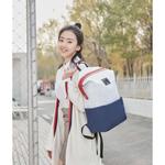 Bolsa escolar de moda para conferencista 90FUN da Xiaomi Youpin Pacote multifuncional de segurança à prova d'água durável adequado para laptop de 13,3 polegadas