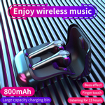 2020 novo Chegada G9 Bluetooth 5.0 Headphone sem fio fone de ouvido Earbuds Tws cancelamento de ruído Gaming Headset para iPhone Xiaomi