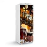 Adesivo decorativo de Geladeira porta cervejeira cerveja importada 150x60cm