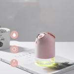 Umidificador de ar portátil ultra-Aroma óleo essencial difusor 800mAh bateria embutida USB recarregável 7 núcleos leve caminhão Doméstico