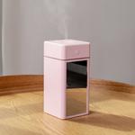 2019 Novo umidificador de ar portátil difusor de óleo essencial 300ML umidificador ultrassônico com espelho Night Light Maker Mist para Casa