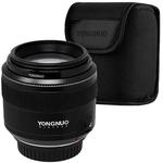 Lente Para Cameras Canon Yongnuo Yn-85Mm F1.8 De 58 Mm Com Abertura F/1.8