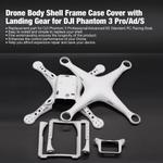Drone Shell Corpo Quadro caso capa com Landing Gear para dji