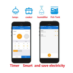 10A Wifi inteligente Tomada para Tianmao Genie para Alexa para o Google