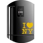 Adesivo Geladeira Frigobar Cervejeira New York - I Love Ny