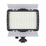 Iluminador Led Foto Vídeo Filmagem Luz Branca E Amarela Bi-color 160 Turbo Para Filmadora PANASONIC AG-AC160AP - TREV