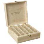 25 Slots Caixa de armazenamento de madeira 1pc Carry Organizador Frascos de petrleo essenciais Box Container Aromaterapia armazenamento caso