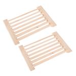 2 Peças Cedro Sauna Ventilação De Ar Grade, 8x5.3 Polegada, Sauna Acessórios