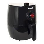 Fritadeira Elétrica Air Fryer Amvox Sem Óleo Preto 3,5l 110v