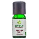 Óleo Essencial Puro Natural de Pimenta Preta 10ml Terra Flor