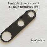 Lente De Câmera Traseira Xiaomi Mi Note 10 Pro /cc9 Pro