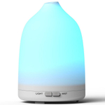 Mini colorido Lâmpada Aromaterapia Aroma Difusor 120ml Ultrasonic atomização