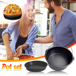 Air Fryer Accessories 2 Piece Set Baked Cake Basket Electric Fryer Baked Pizza