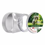 Collar Cat Pet Natural Óleo Essencial Anti Flea Carrapatos Lices mosquitos Coleiras Mite Protecção Coleiras impermeáveis ajustáveis
