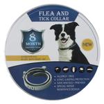 Cat Dog Pet Para Flea Collar Scorpion Mosquito Worm Waterproof Desodorante Natural Óleo Essencial de 8 meses de proteção