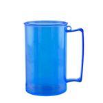 Caneca de Chopp Acrílica Durável Azul 500ml 84 unidades Bezavel