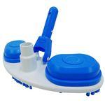 Aspirador slim para piscinas plástico com escova sodramar
