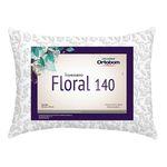 Travesseiro Floral 140 Fios 01 Peça Estampado - Ortobom