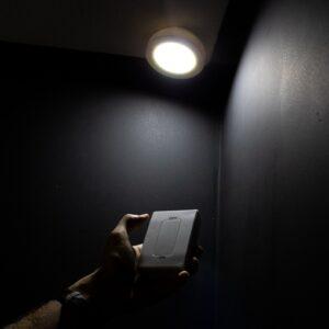Luminária Portátil Com Controle Remoto