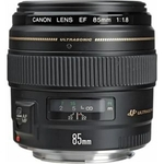 Objetiva Canon EF 85mm F/1.8 USM