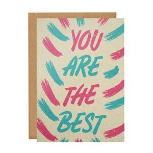 Cartão You Are The Best