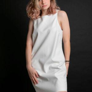 Vestido Calvin Klein J. S/m Pespontos Ref:cf9Pc30Vp012