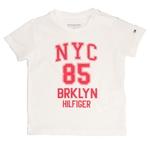 Camiseta Infantil Tommy Hilfiger Branca