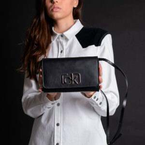 Pochete Calvin Klein Wl Bolsa Preto Ref:cf9Pw86Bl179