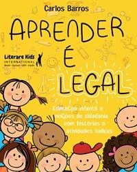 Livro Aprender é legal - Barros - Literare Books