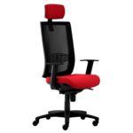 Cadeira de Escritório Presidente Caderode Kind Executive Vermelha/Preto