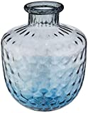 Bart Vaso 38 * 29cm Vidro Azul Cn Home & Co Único