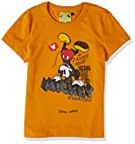Camiseta Disney: Mickey Mouse Bring On The Fun, Colcci Fun, Meninas, Amarelo Fireball, 14
