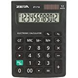 Calculadora De Mesa 12dig. Zetta Zt712 Preta - Unidade, ProCalc, 5873, Preta