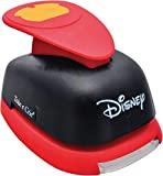 Furador Gigante Alavanca Premium Shorts Mickey Mouse, Toke E Crie, Fgad05, Vermelho E Preto