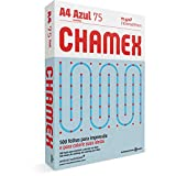 Chamex Papel A4, 210 x 297 mm, Pacote 500 Folhas, Azul