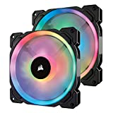 FAN PARA GABINETE - LL140 RGB - 140MM - PACK C/ 2 UNIDADES) - CO-9050074-WW