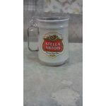 Caneca De Chopp Em Aluminio Com Adesivo Stella Artois