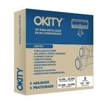 Kit De Instalação Para Ar-condicionado Split E Inverter 18.000 A 22.000 Btus Midea Okity Ce0403g