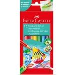 Lapis De Cor Aquarelavel Ecolapis 12 Cores Faber-Castell Pct.C/12