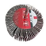 Roda De Lixa Com Haste Para Furadeira, P 80, 60 X 30 X 6 Mm Mtx