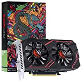 PLACA DE VIDEO NVIDIA GEFORCE GTX 1650 4GB GDDR5 128 BITS DUAL FAN GRAFFITI SERIES - PA1650GTX12804D5FS - PCYES