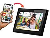"Porta-Retratos Digital inteligente Minolta Smart Wi-fi LCD 10"" Touch Screen 8GB, MN632, Preto"